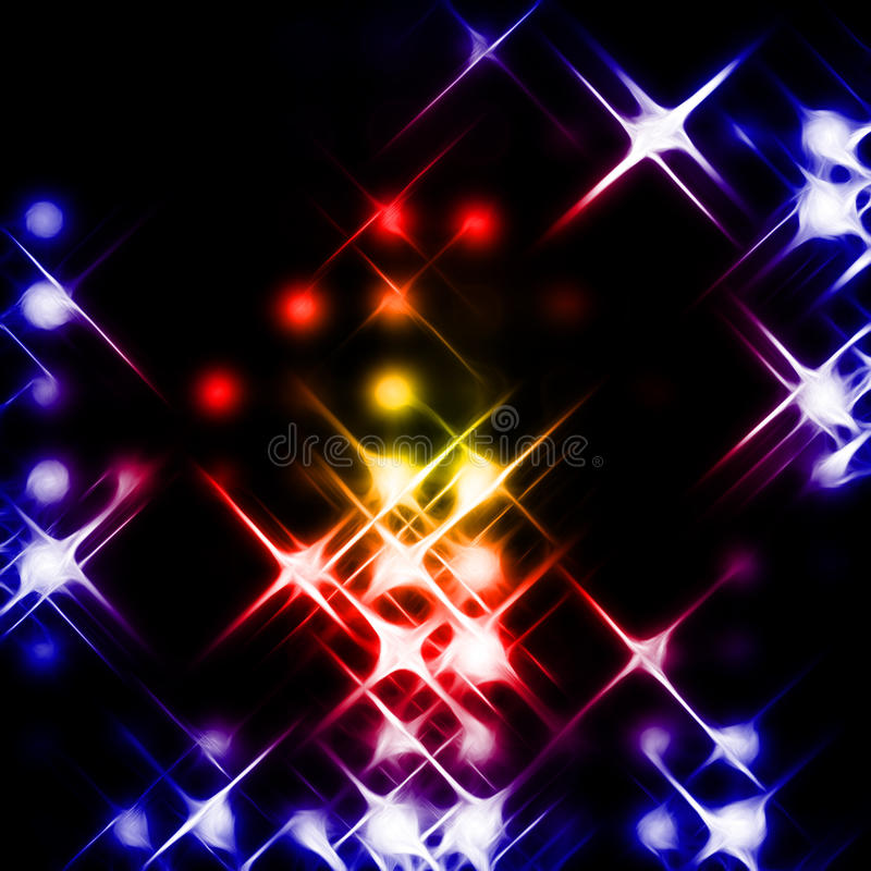 Download Light beams stock illustration. Illustration of bright - 15622977