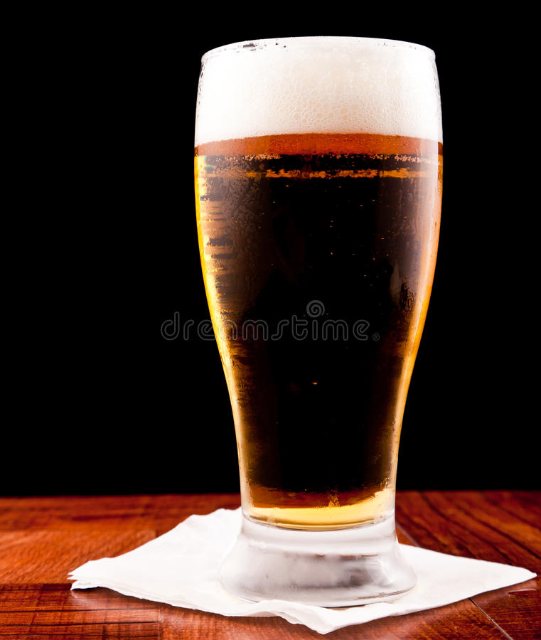 Download Light beer stock image. Image of relax, froth, amber - 24236015
