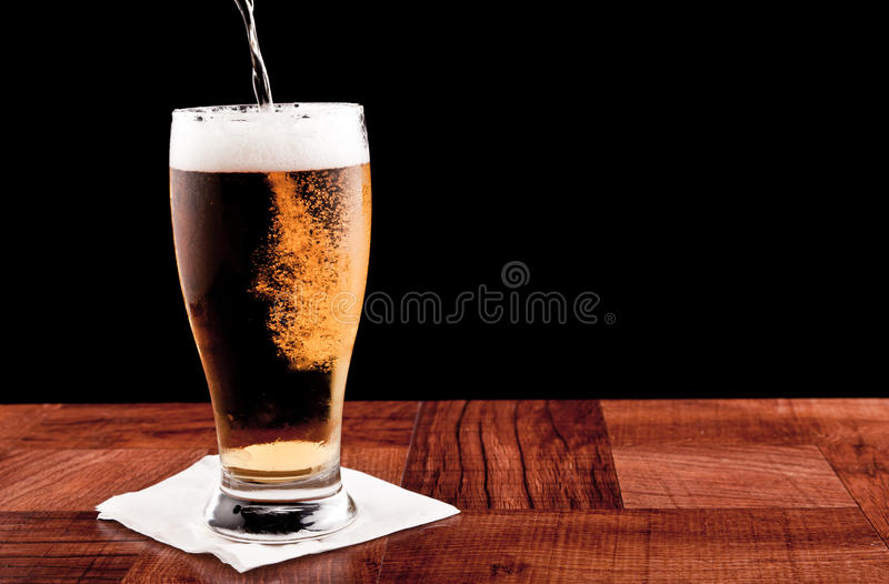 Download Light beer stock image. Image of frosted, beer, glass - 24236017