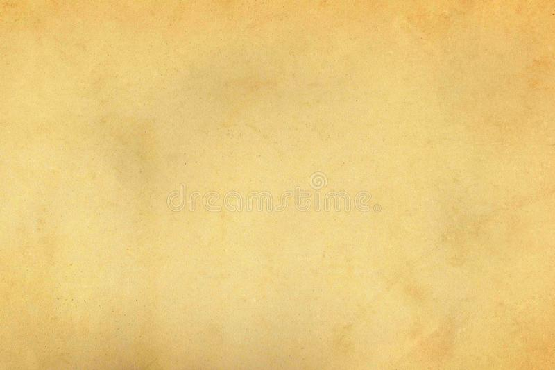 Light beige weathered vintage old paper parchment texture stock photography