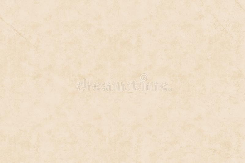 Light beige grunge old wall textured background. Light plain paper with abstract grunge texture for website or web background royalty free illustration