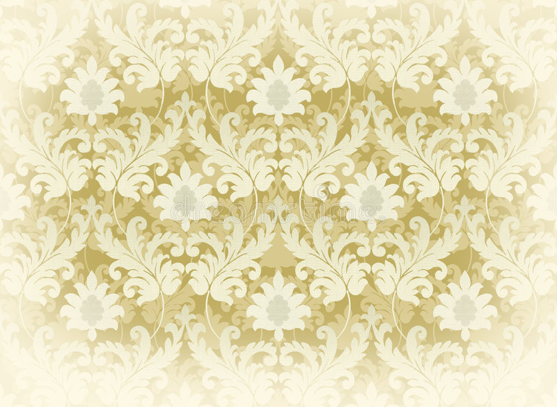 Light Beige Renaissance Background Royalty Free Stock Image