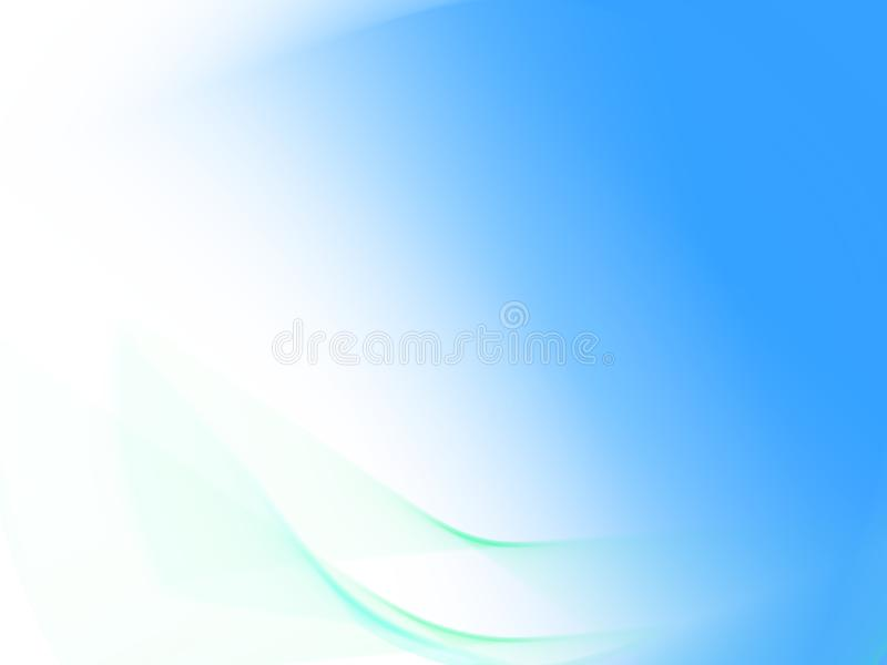Light blue background. Blue coloured abstract background; desktop image royalty free illustration