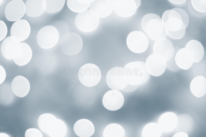 Light blue bokeh royalty free stock images