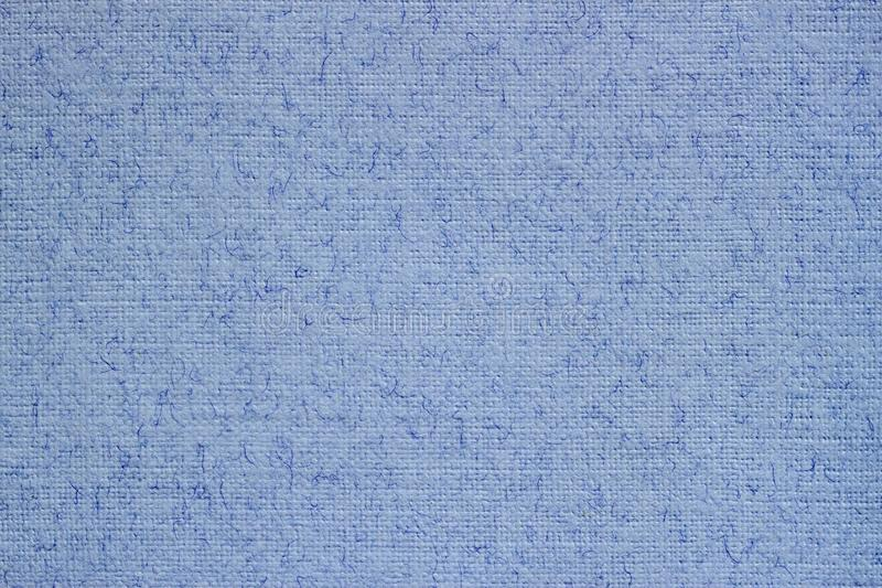Light blue canvas, fabric, background with visible texture, pattern for design royalty free stock image
