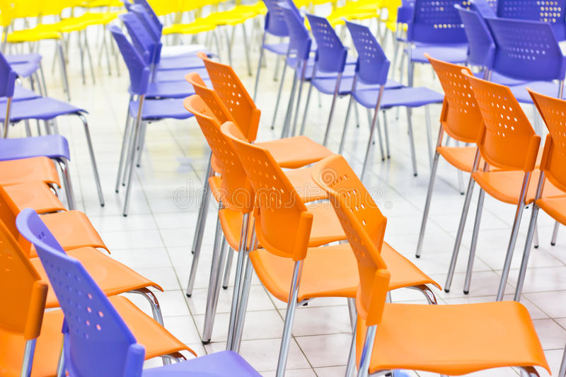 Download Light blue chair stock photo. Image of commercial, conference - 32060916