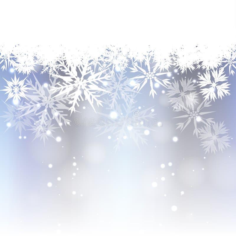 Download Light Blue Christmas Background Stock Vector - Illustration: 27656657