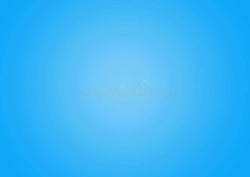 Light Blue color Gradient defocused abstract background. vector illustration
