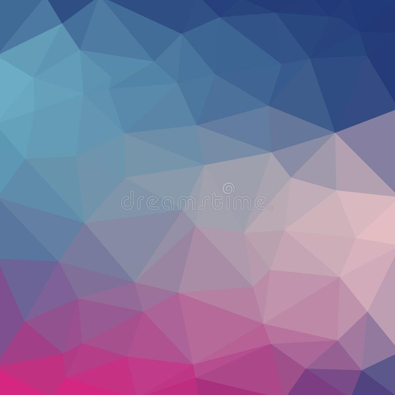 Free Light Blue Cool Vector Low Poly Crystal Background. Polygon Design Royalty Free Stock Photography - 151460967