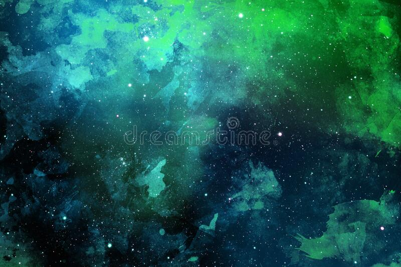 light blue green colorful dramatic space colorful galaxies stars background wallpaper light blue green 169815804