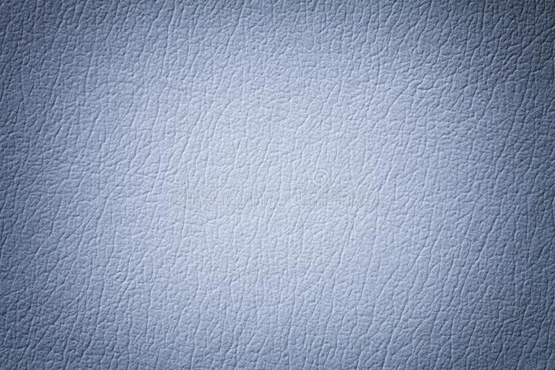 Light blue leather texture background with pattern, closeup royalty free stock image
