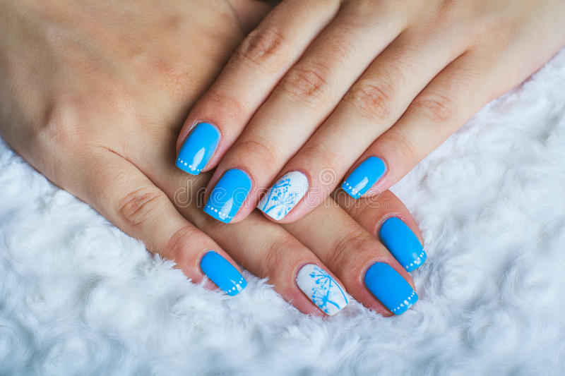 Light blue nail art stock photo image of hand beautiful 57811700 download light blue nail art stock photo image of hand beautiful 57811700 prinsesfo Image collections