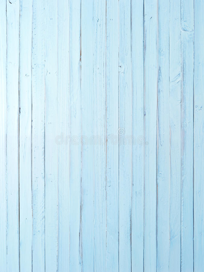 Light Blue Painted Wood Background stock photography