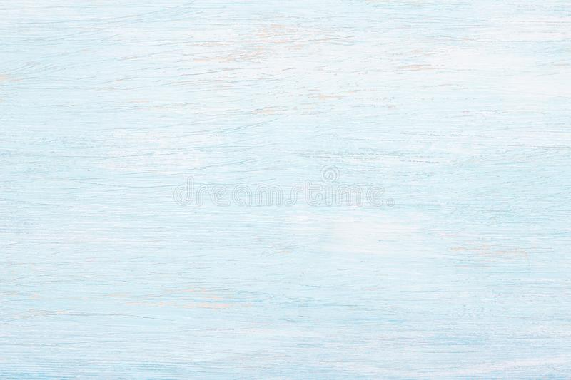 Light blue painted wooden background stock images