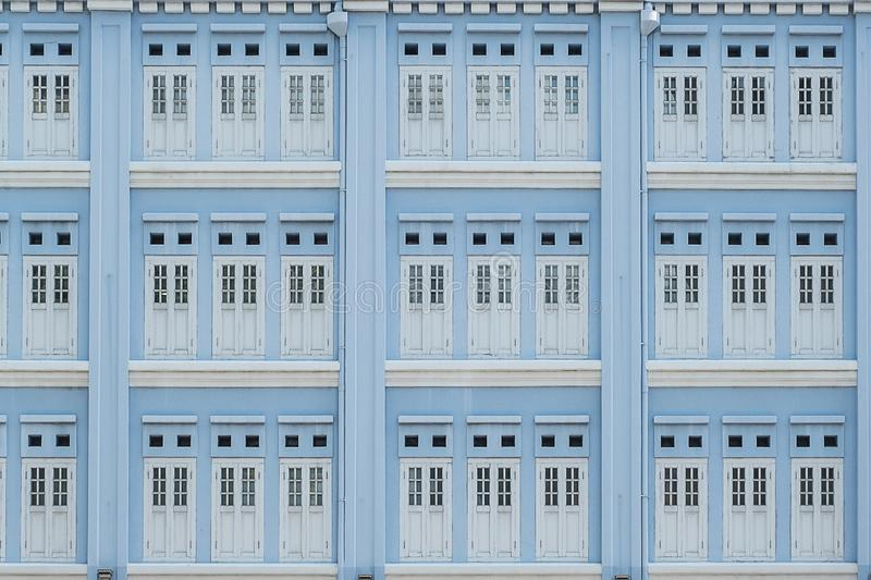Light blue pastel color of windows, abstract pattern background royalty free stock photo