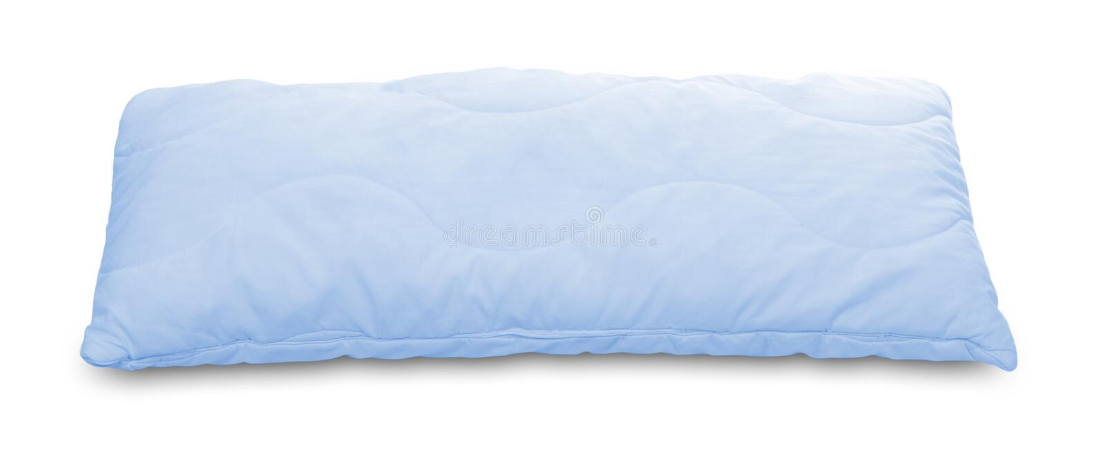 Download Light blue pillow stock photo. Image of decorative, style - 9579928