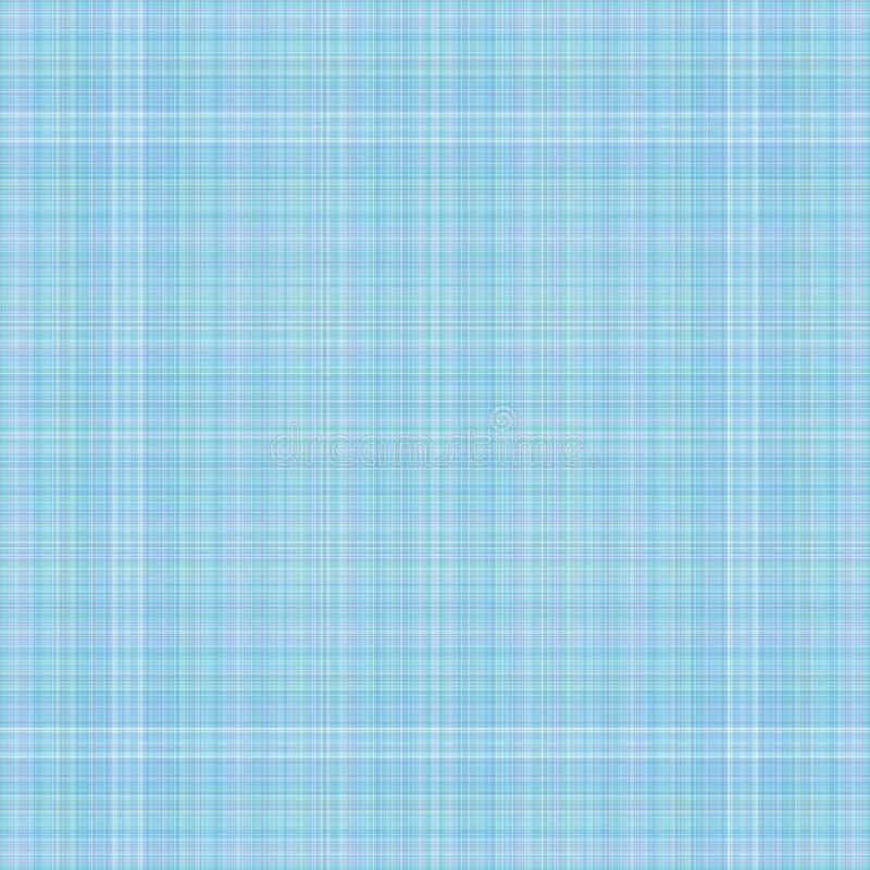 Light blue plaid royalty free illustration