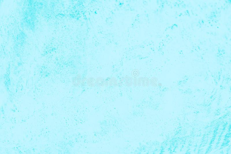 Light blue turquoise color concrete background, beton pattern. Soft color royalty free stock images