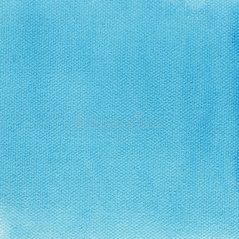 Light blue watercolor background on canvas stock photo