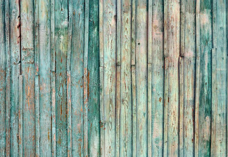 Pastel wood planks texture, Vintage blue wooden background royalty free stock photography