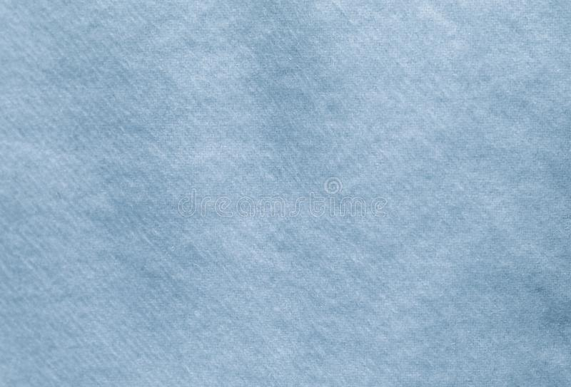Light blue wool material, fabric close up, background, texture stock photography