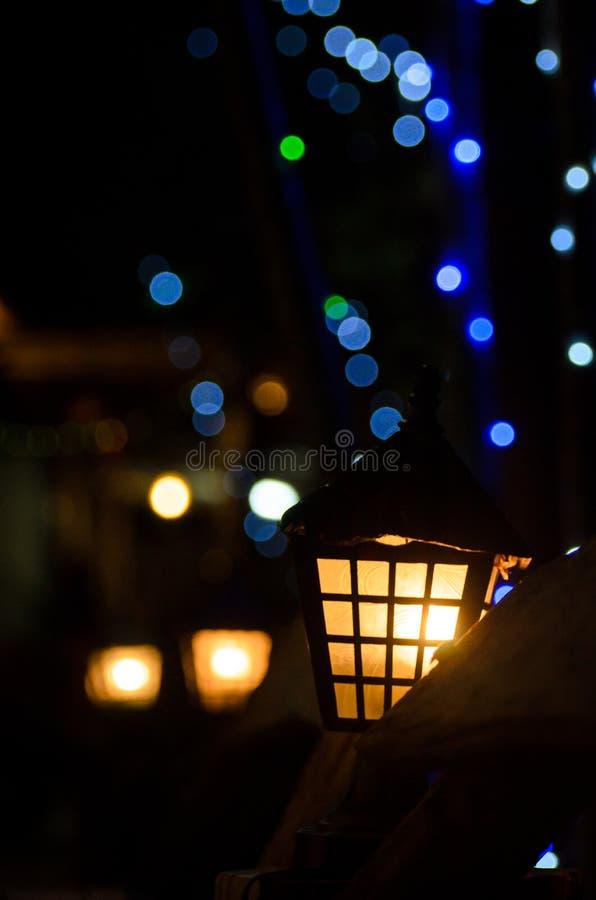Light and bokeh royalty free stock photos