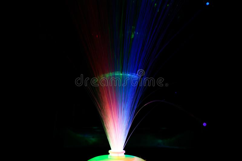 Light Bounce Red green blue most quite royalty free stock image