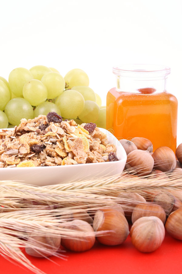 Light breakfast royalty free stock images