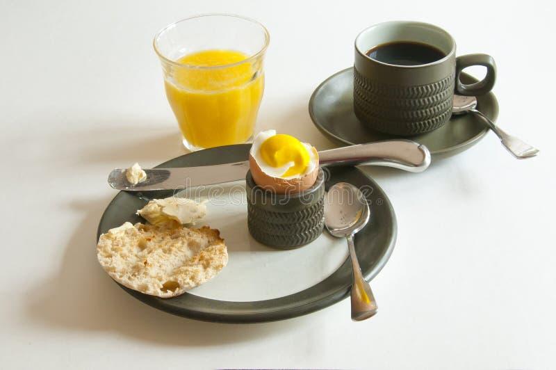 Download A light Breakfast stock image. Image of orange, saucer - 19233995