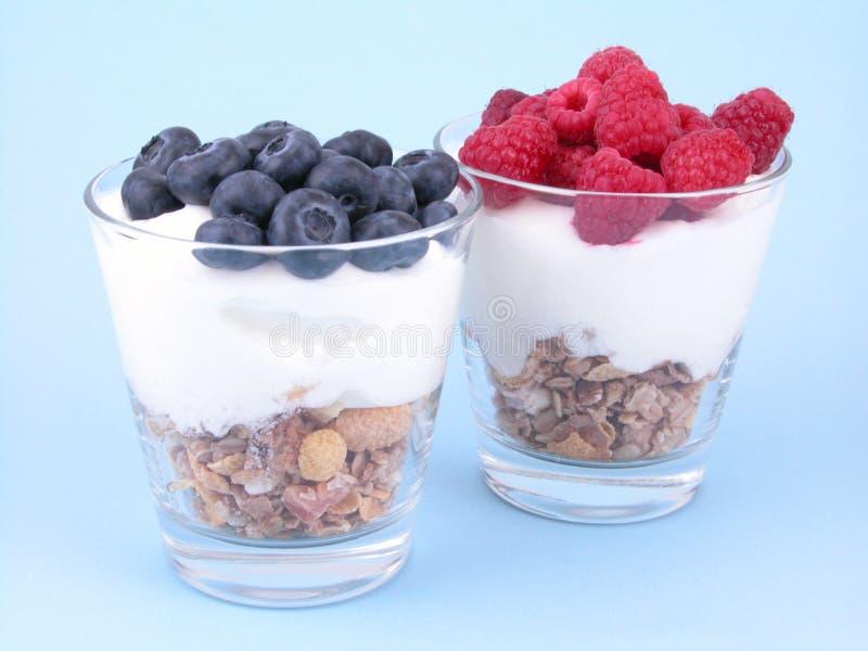 Light breakfast stock image
