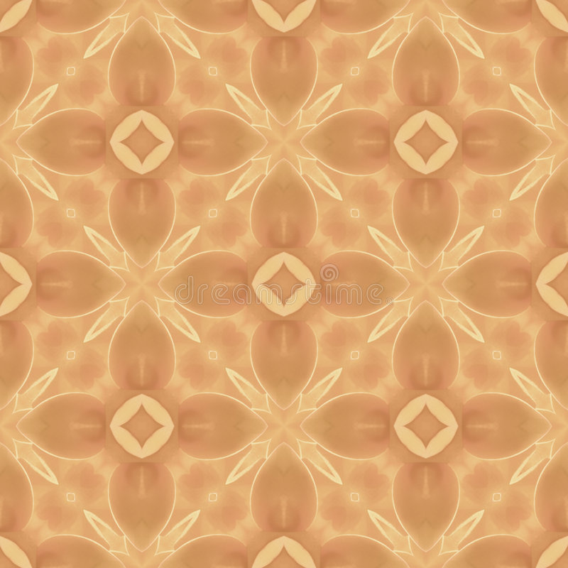 Light-brown abstract seamless repeat pattern vector illustration