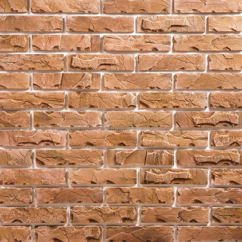 Free Light-brown Brick Background Pattern Royalty Free Stock Images - 114484649