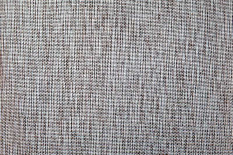 Brown fabric canvas for upholstery furniture royalty free stock image