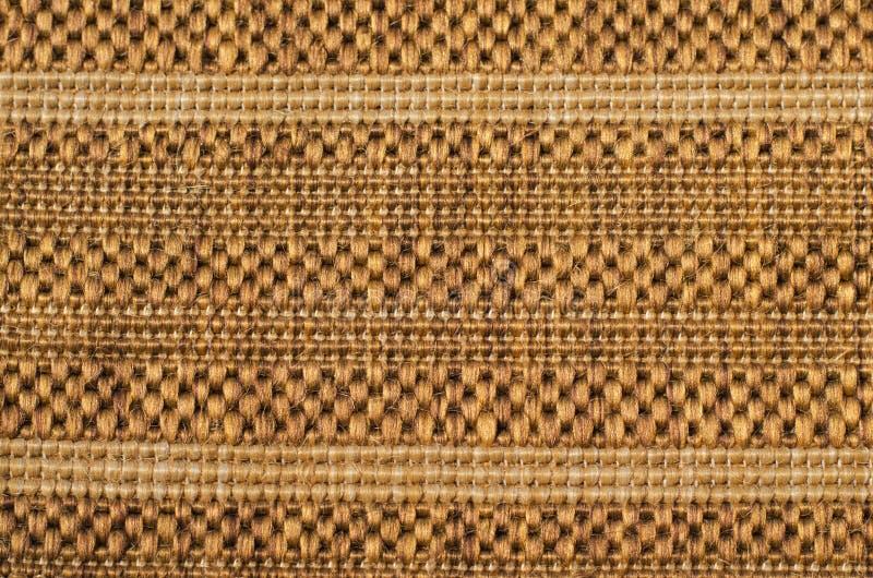 Light brown texture of fabric royalty free stock photos