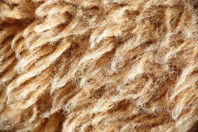 Light brown wool