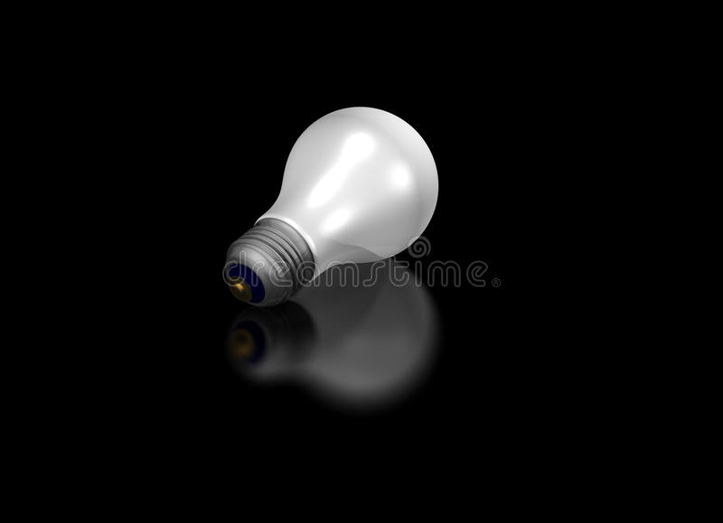Download Light Bulb stock illustration. Illustration of bulb, electric - 10493435