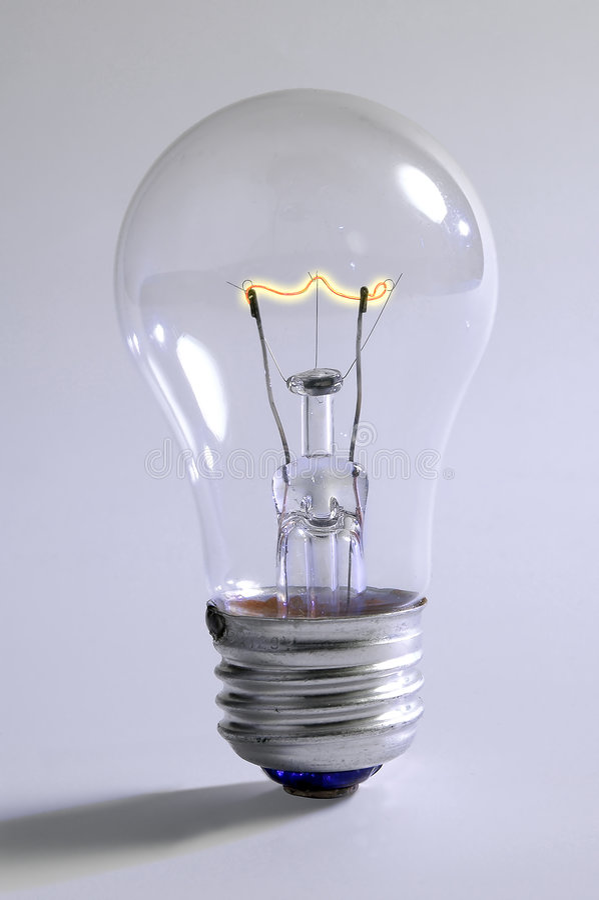 Free Light Bulb Royalty Free Stock Photo - 1075625