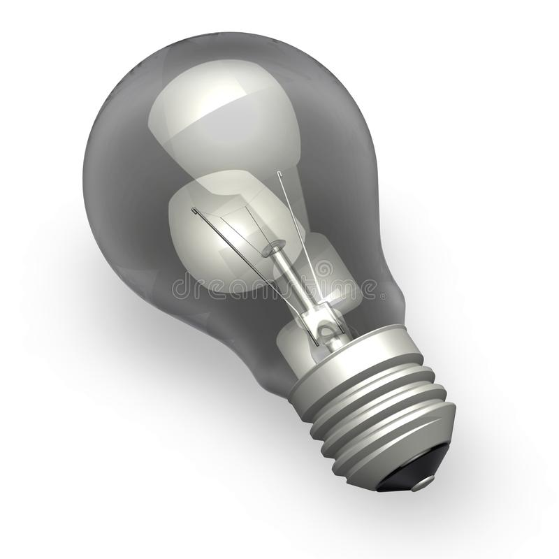 Download Light bulb stock illustration. Image of electric, electricity - 15500743