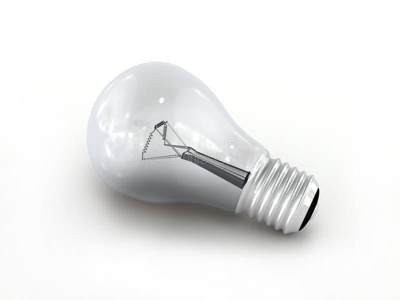 Light bulb. stock illustration