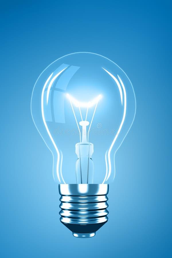 Light bulb royalty free illustration