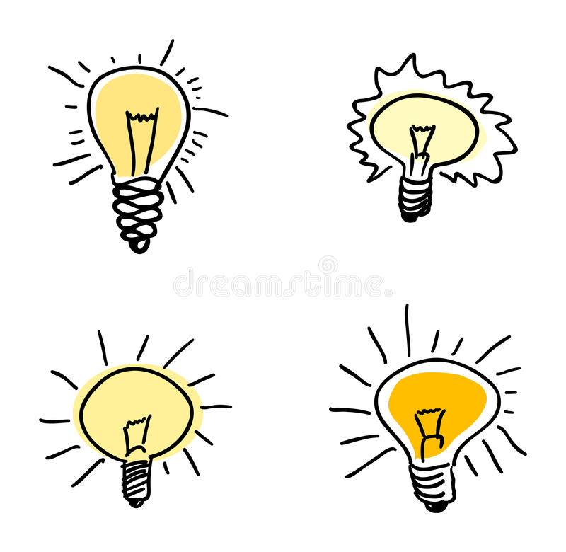 Download Light bulb stock vector. Illustration of electric, simple - 21584083