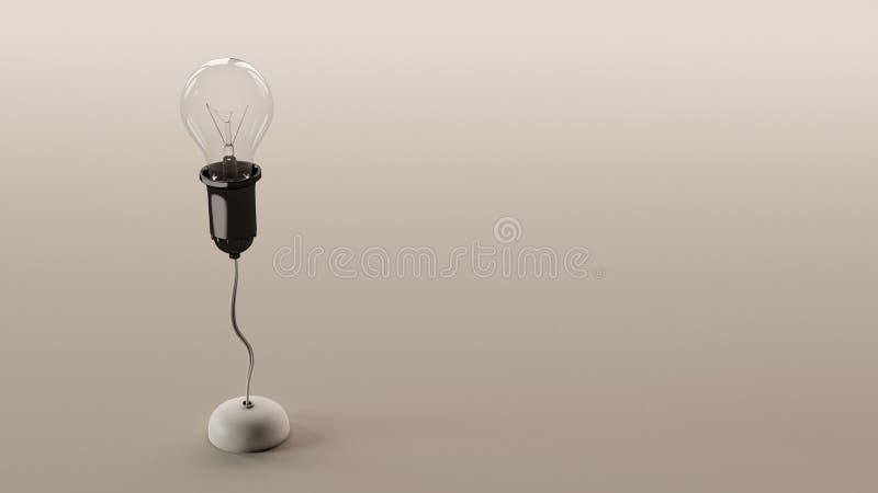 Download Light bulb stock illustration. Image of grow, light, black - 24515912
