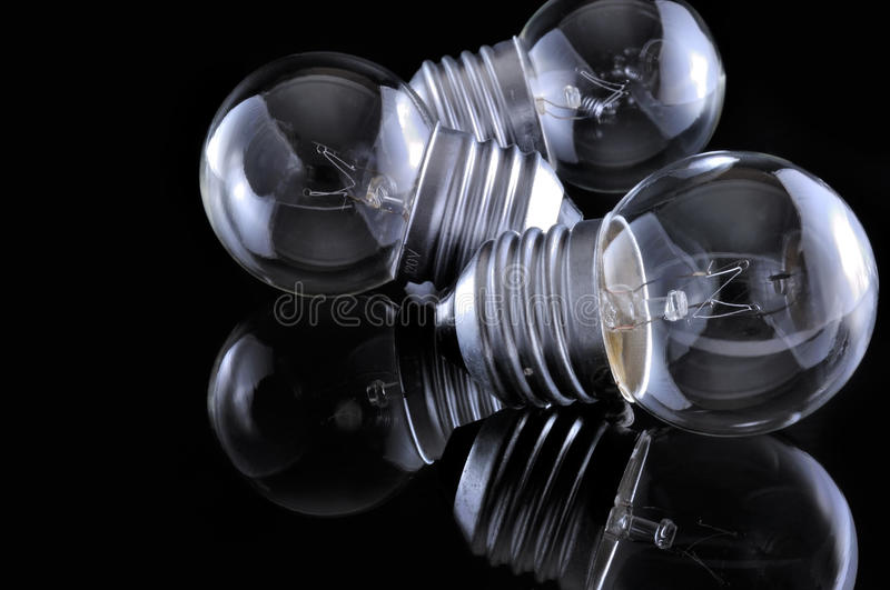 Incandescent Light Bulb stock images