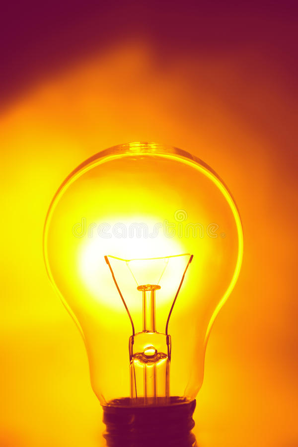 Download Light bulb stock image. Image of conceptual, electric - 28756743
