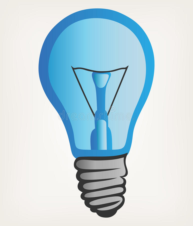 Download Light bulb stock vector. Image of design, clip, electricity - 29179203