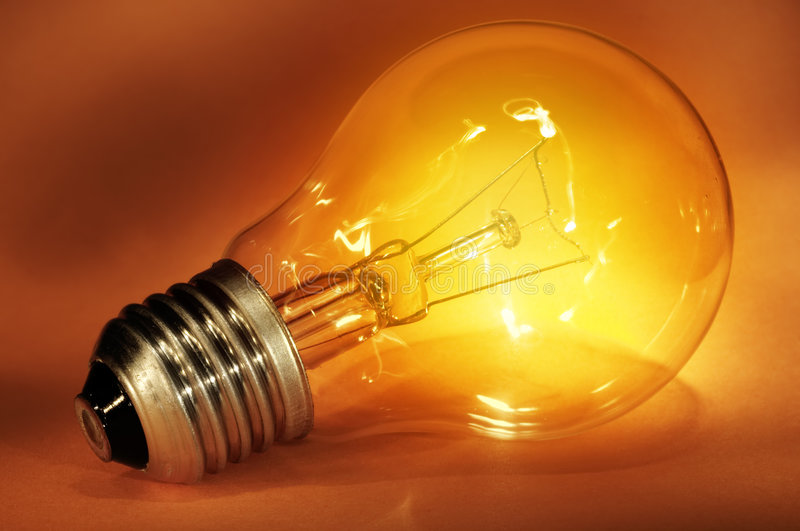 Download Light bulb stock photo. Image of darkly, discovery, creative - 3253676