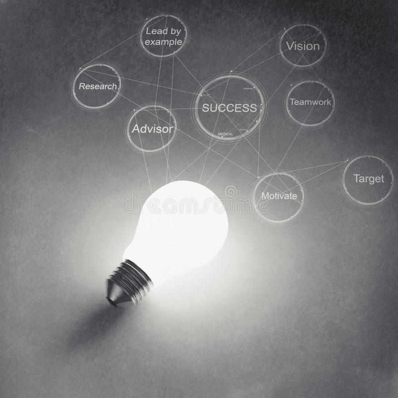 Free Light Bulb 3d On Business Strategy Background Stock Photo - 32699110