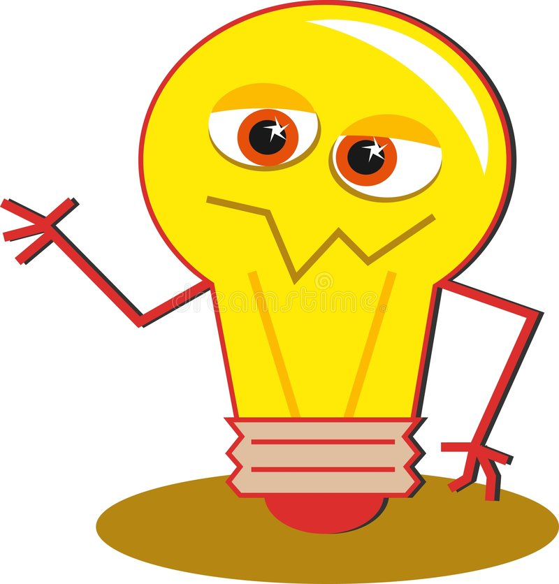 Light Bulb stock illustration