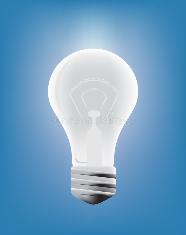 Free Light Bulb Royalty Free Stock Image - 9320216