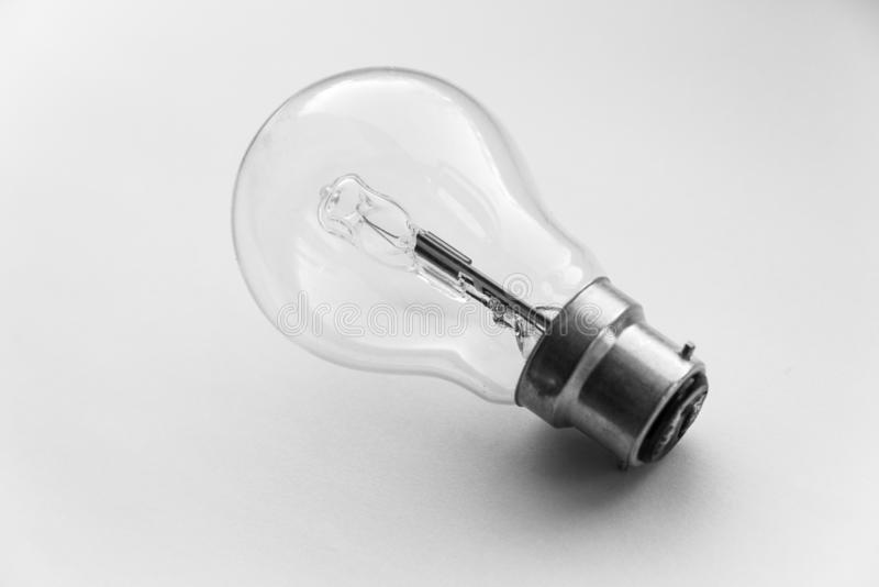 Bayonet mount halogen light bulb royalty free stock image